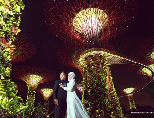 Singapore Prewedding of F&Y