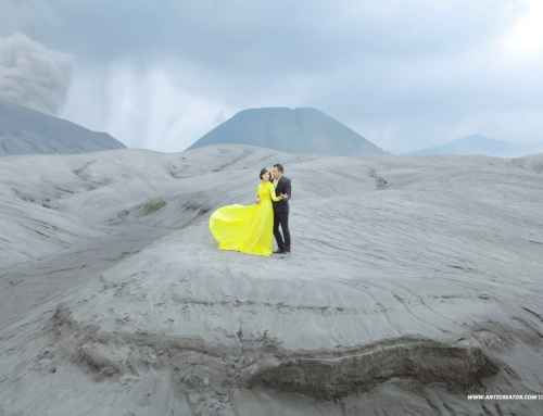 Bromo Prewedding of Oline&Rio