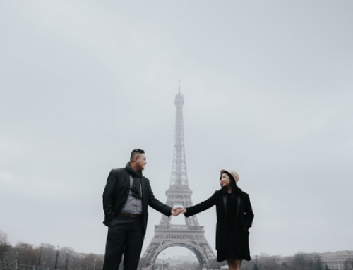 Paris Prewedding of Vicky & Dhyan